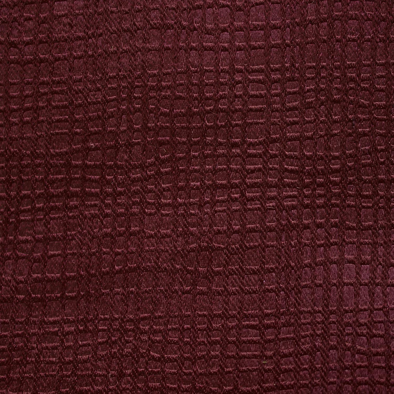 Bella Luna Calypso Embossed Textured Room Darkening 76 x 84 in Grommet Curtain Panel Pair Charcoal