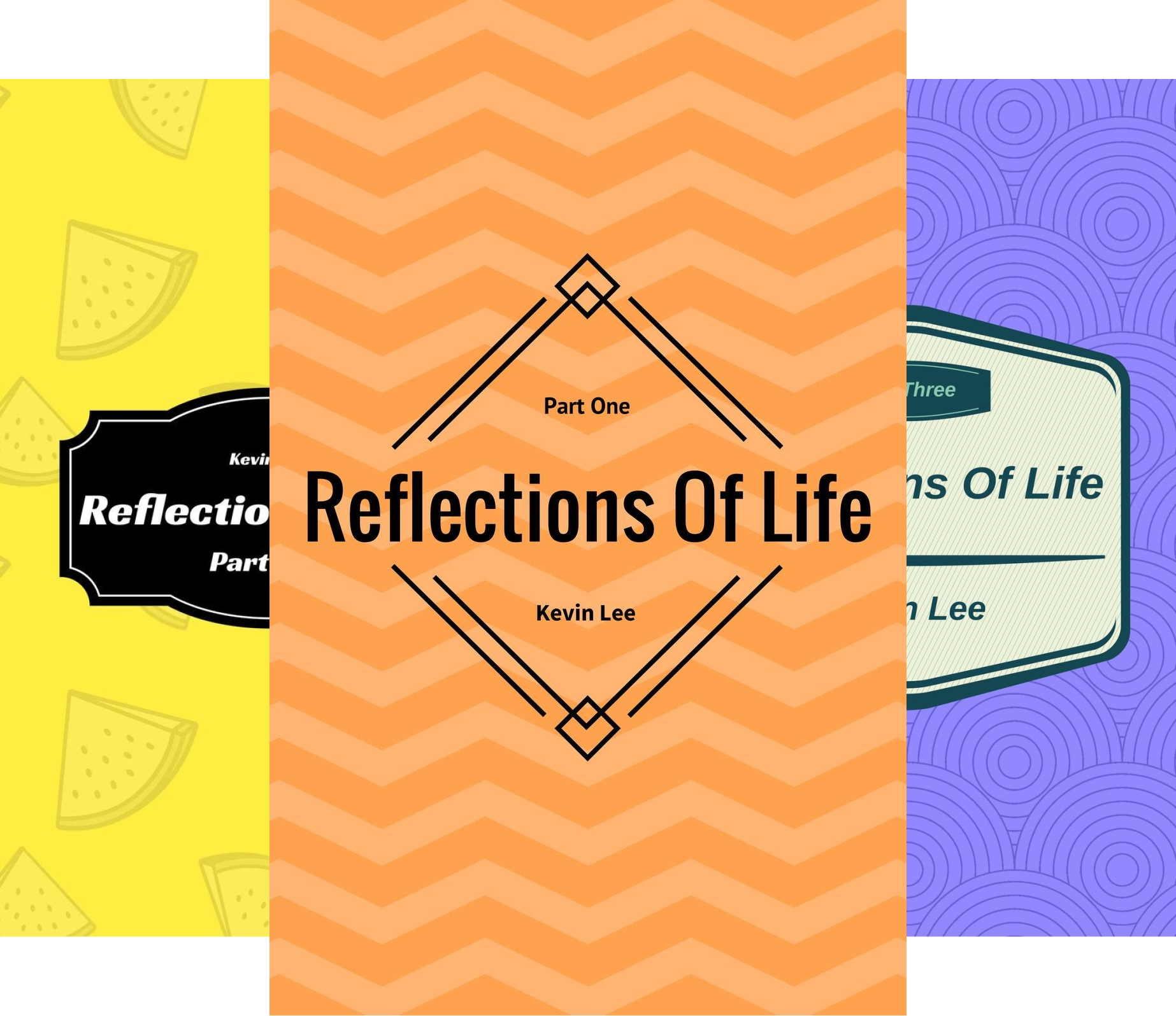 Reflections of Life (3 Book Series)