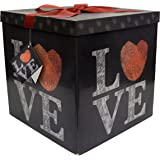 Endless Art US Amrita Love EZ Gift Box. Easy to Assemble and No Glue Required. (12x12)