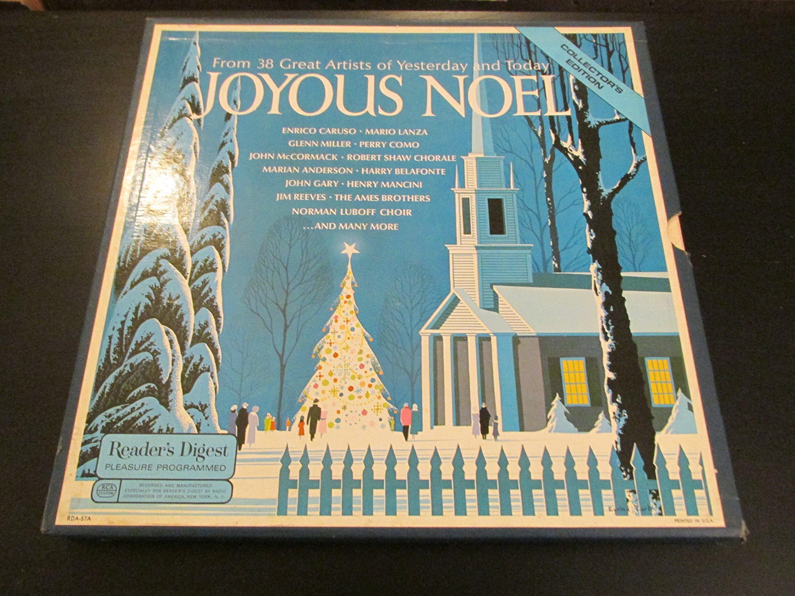 Joyous Noel Christmas 4 Lps Box Set