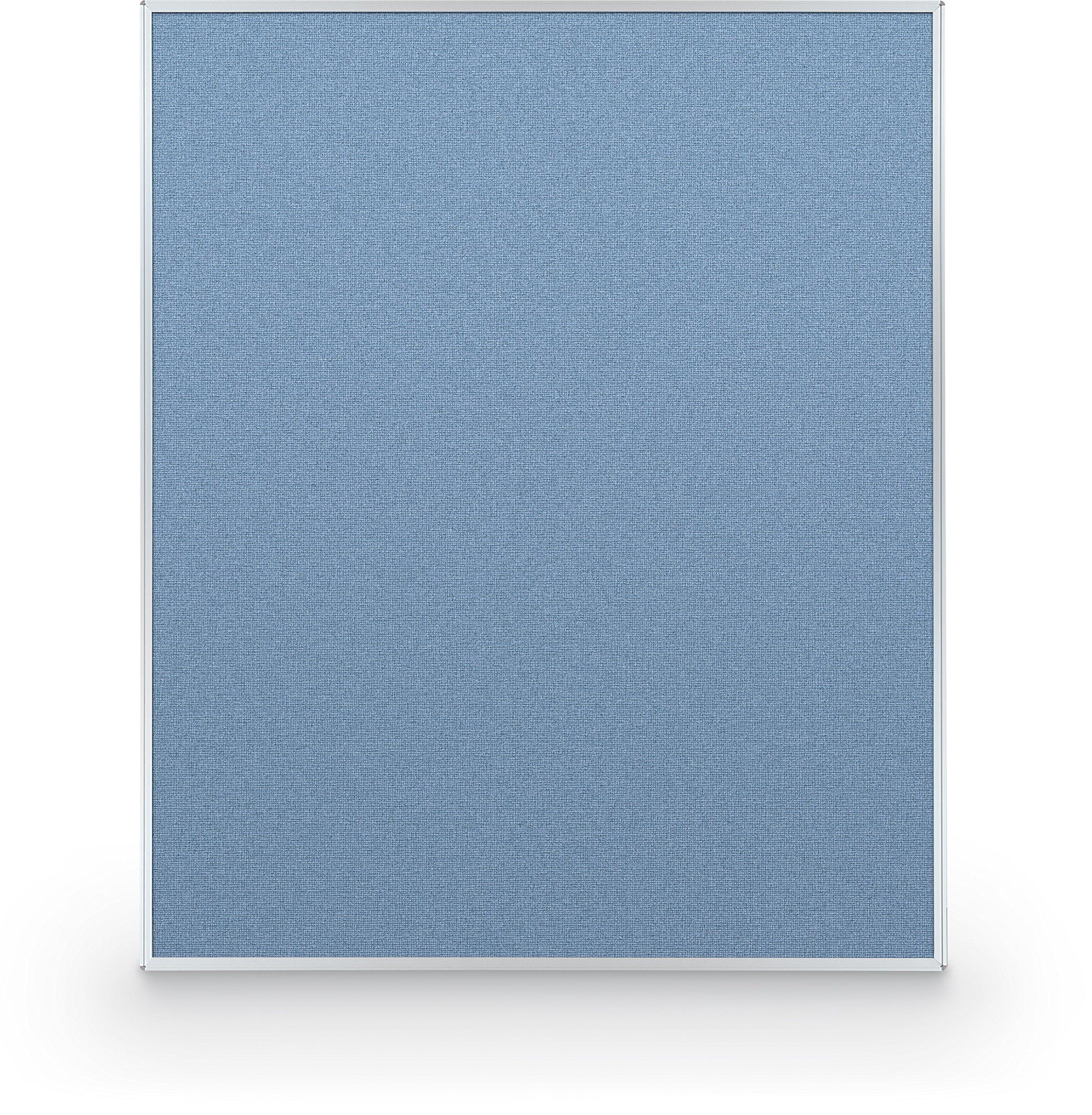 Best-Rite 72 x 60 Inch Standard Modular Divider Panel, Blue Fabric Panel, (66220-87)
