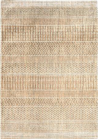 Louis de Poortere Agadir Alfombra, algodón, Beige, 280x200 cm: Amazon.es: Juguetes y juegos