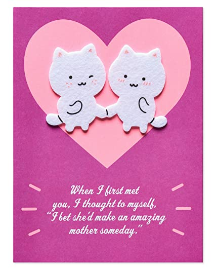 American Greetings Funny Lying Mother's Day Greeting Card with Felt  Attachments