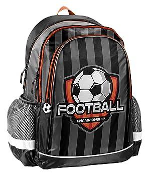 Paso Mochila - Balón de fútbol Mochila Escolar 18 - 081 FB Football: Amazon.es: Juguetes y juegos