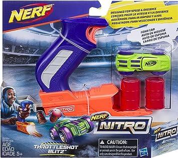 Nerf C0780EU40 – Nitro Starter Pack, colores aleatorios , color/modelo surtido: Amazon.es: Juguetes y juegos