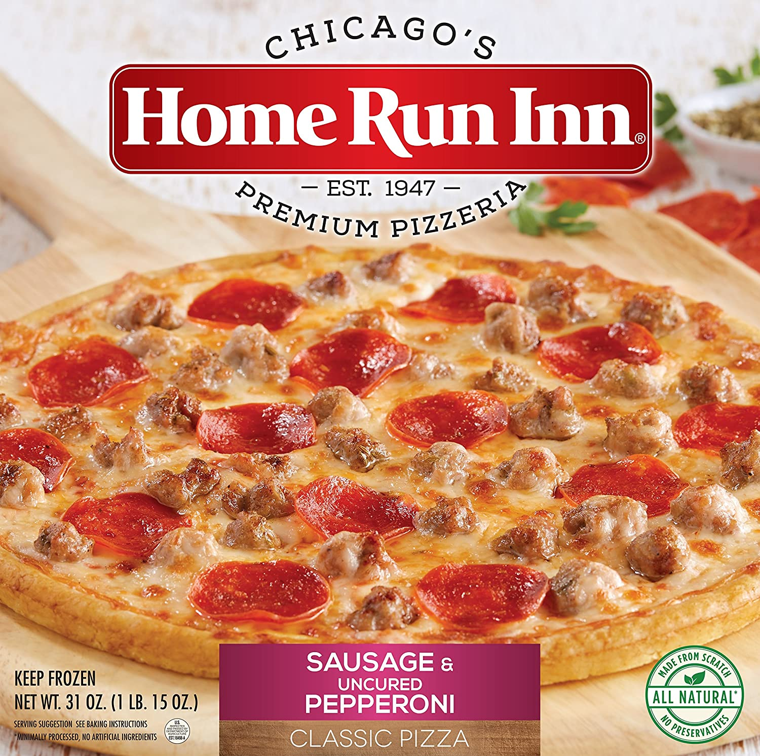 Home Run Inn 12 Classic Sausage And Pepperoni Pizza