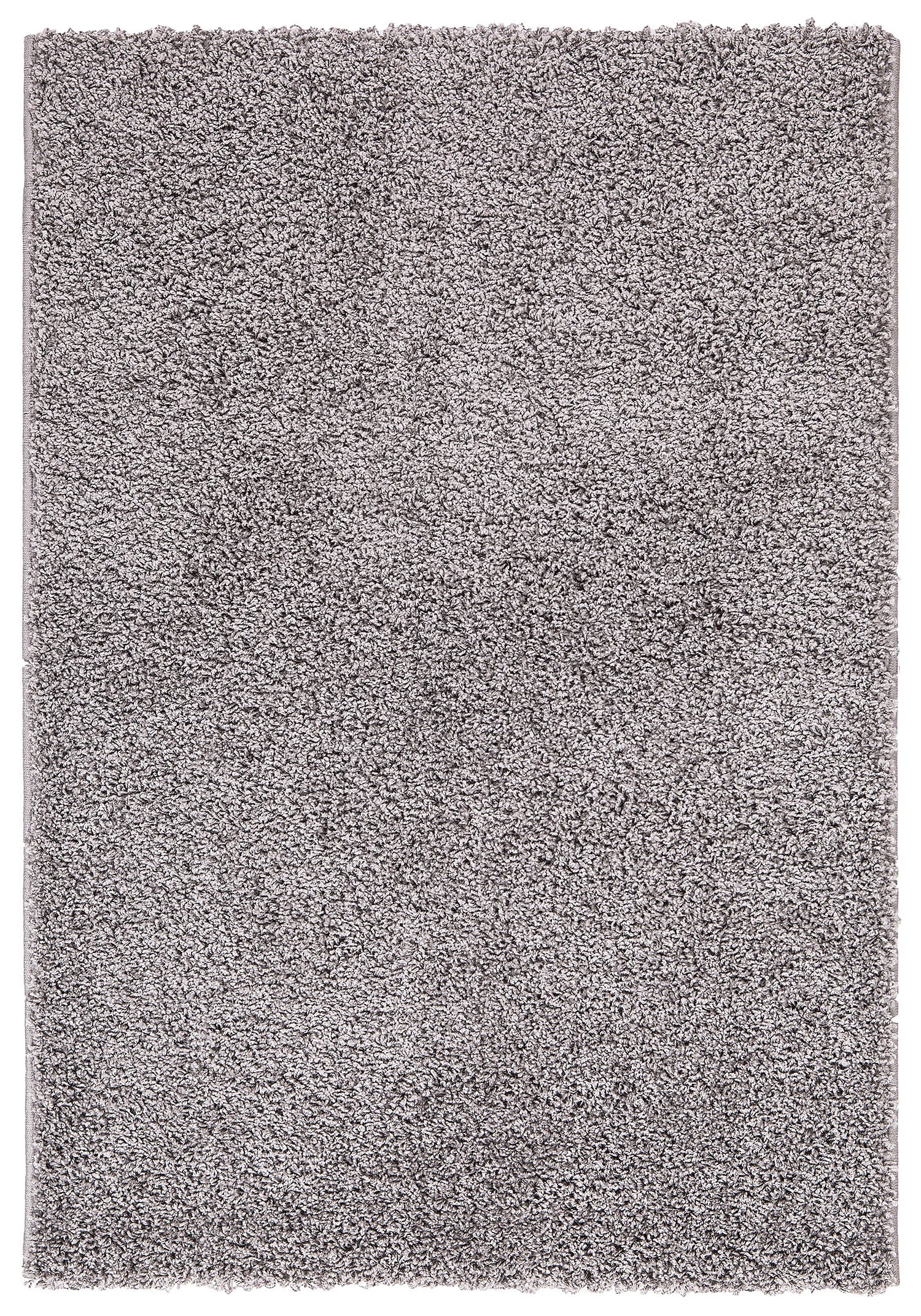 Ottomanson Soft Cozy Color Solid Shag Area Rug Contemporary Living and Bedroom Soft Shag Area Rug, Grey, 7'10'' L x 9'10'' W by Ottomanson (Image #3)