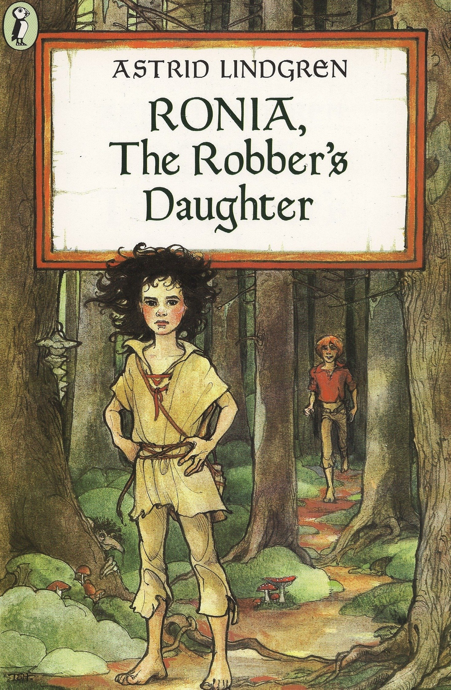 Ronia, the Robber's Daughter: Lindgren, Astrid, Lindgren, Astrid:  9780140317206: Amazon.com: Books