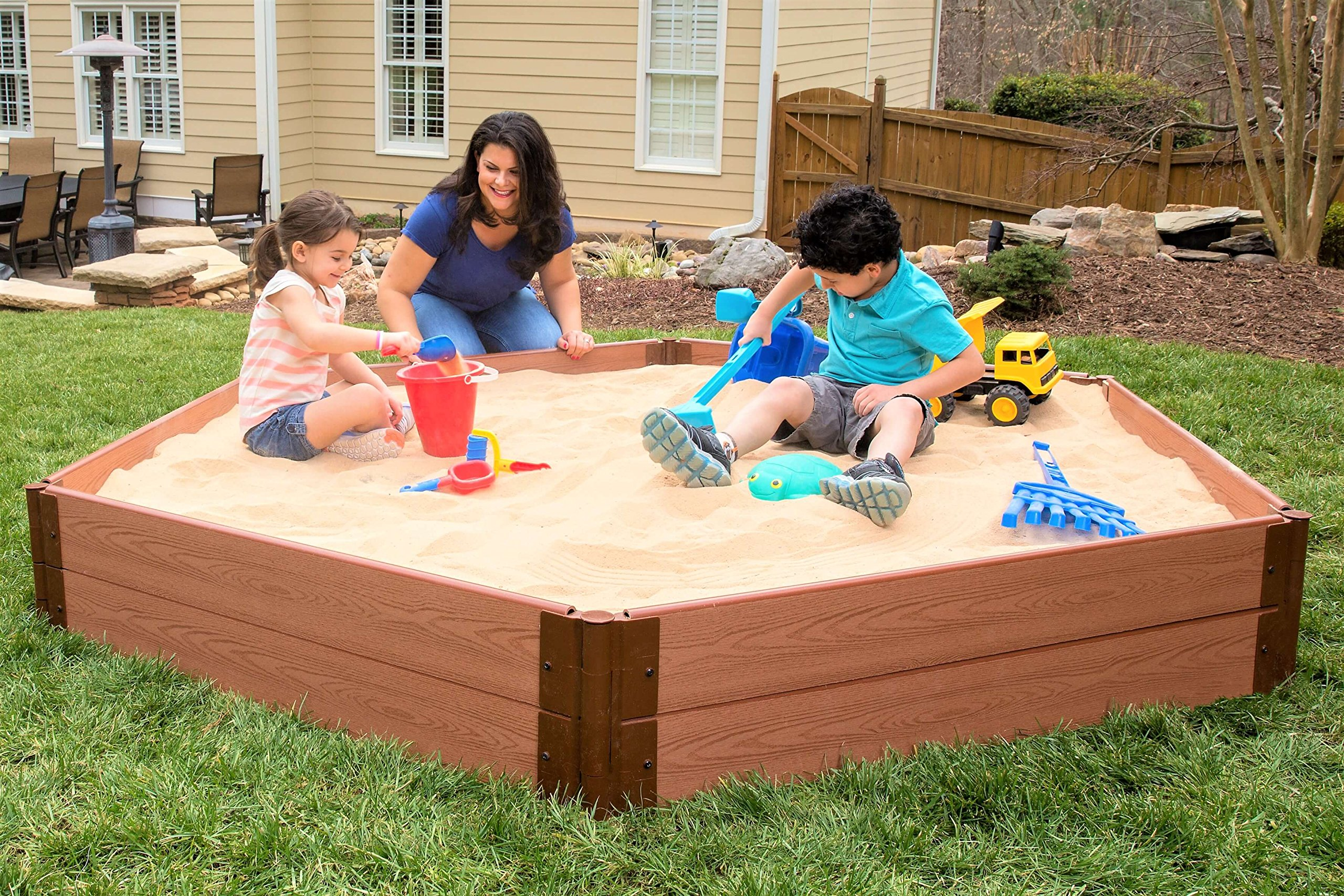 Frame It All 300001228 Sandbox Kit with Collapsible Cover by Frame It All (Image #2)