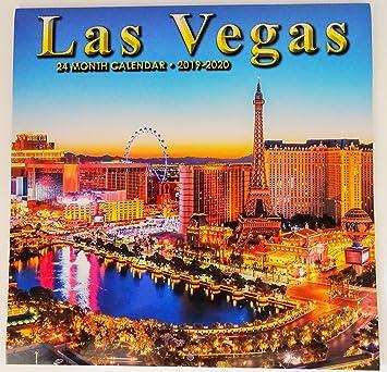 2019/2020 Las Vegas Souvenir - Calendario de 2 años (24 ...