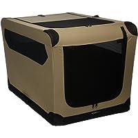AmazonBasics - Transportín para perros, blando, plegable, 91,4 cm
