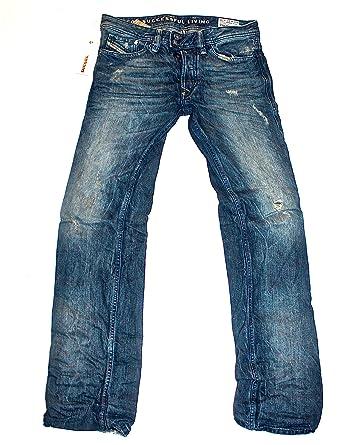 e866dbce Diesel Jeans Viker-R-Box 801N Regular Fit Straight Leg 0801N: Amazon.co.uk:  Clothing