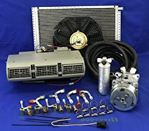 A/C KIT Universal Under Dash Evaporator 405 G KIT AIR Conditioner 12V W/Electrical Harness