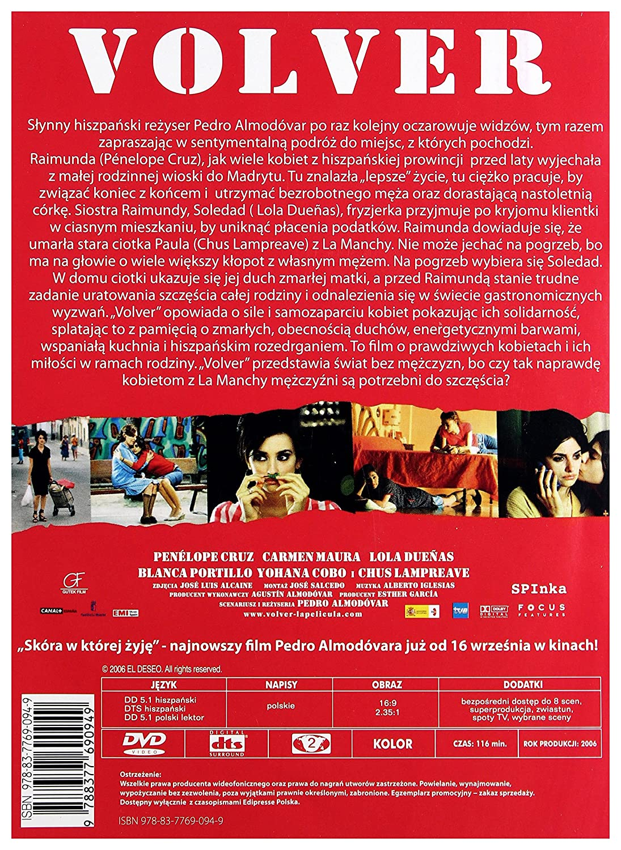 Volver [DVD] (Audio español): Amazon.es: Carmen Maura, Lola ...