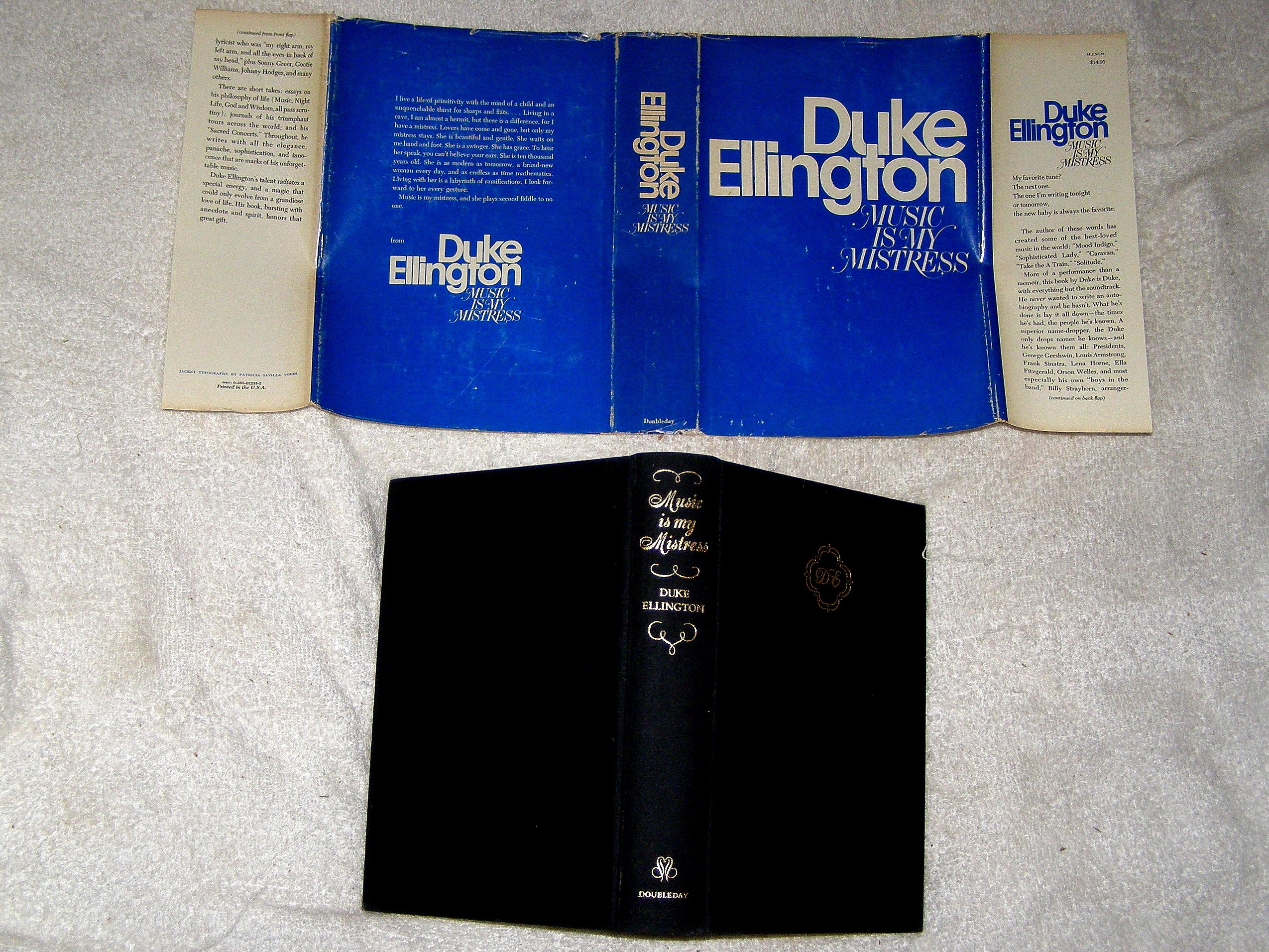 duke ellington music is my mistress duke ellington edward duke ellington music is my mistress duke ellington edward kennedy ellington 9780385022354 com books