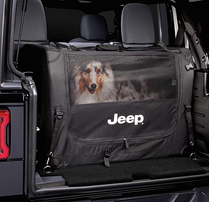 """NEW OEM JEEP Cherokee /""""JEEP/"""" portable//collapsible pet kennel MOPAR"""
