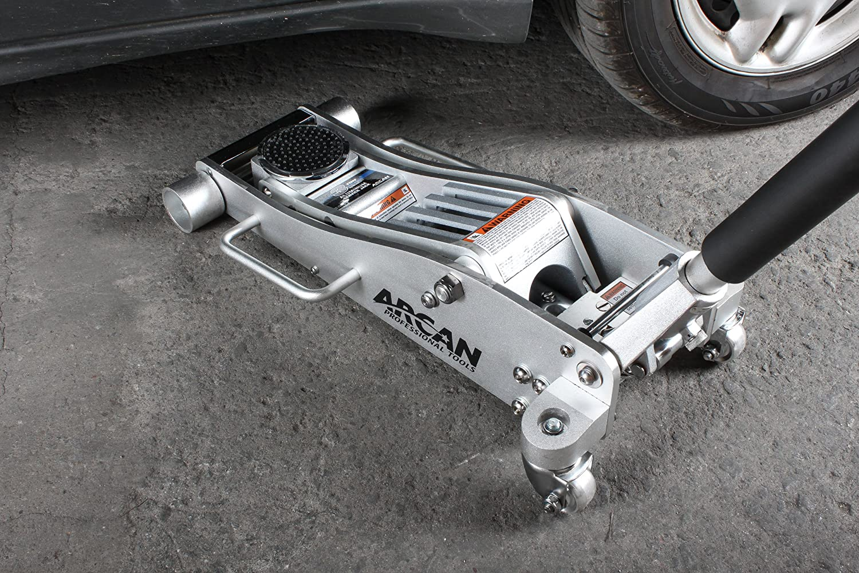 2 Ton Capacity Arcan XL2T Black Low Profile Steel Service Jack