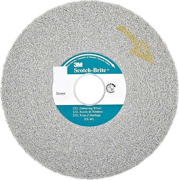 Deburring Convolute Wheel 6x1//2x1 MED