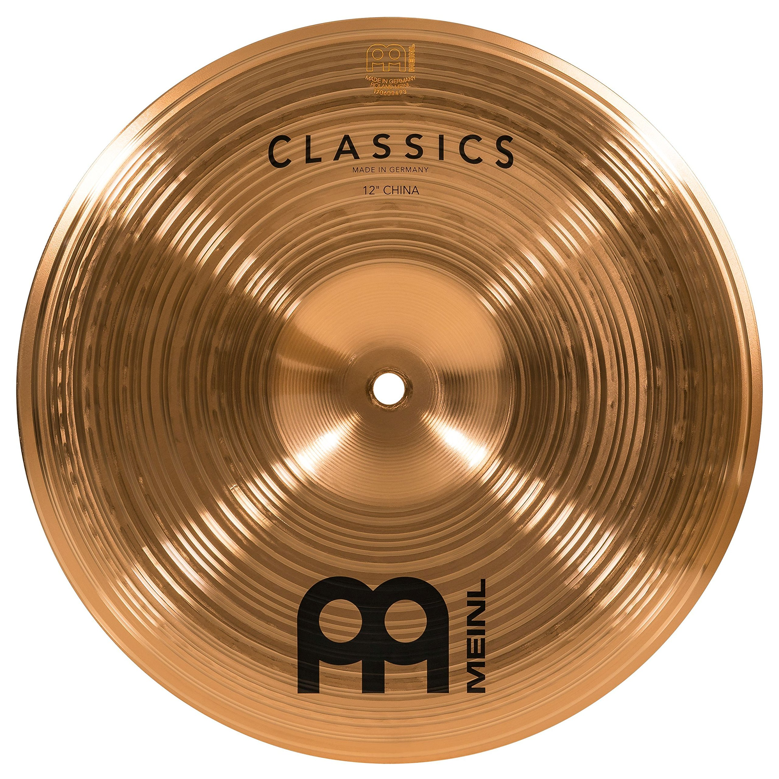 Meinl 12'' China Cymbal - Classics Traditional - Made in Germany, 2-YEAR WARRANTY (C12CH) by Meinl Cymbals