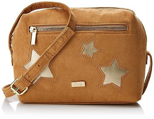 Corsa, Womens Cross-Body Bag, Multicolour (Antelina Cuero/Oro), 8.5x17x21 cm (W x H L) Mtng