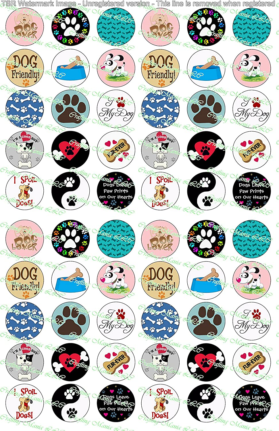 Pre Cut One Inch Bottle Cap Images HEARTS VALENTINES Free Shipping