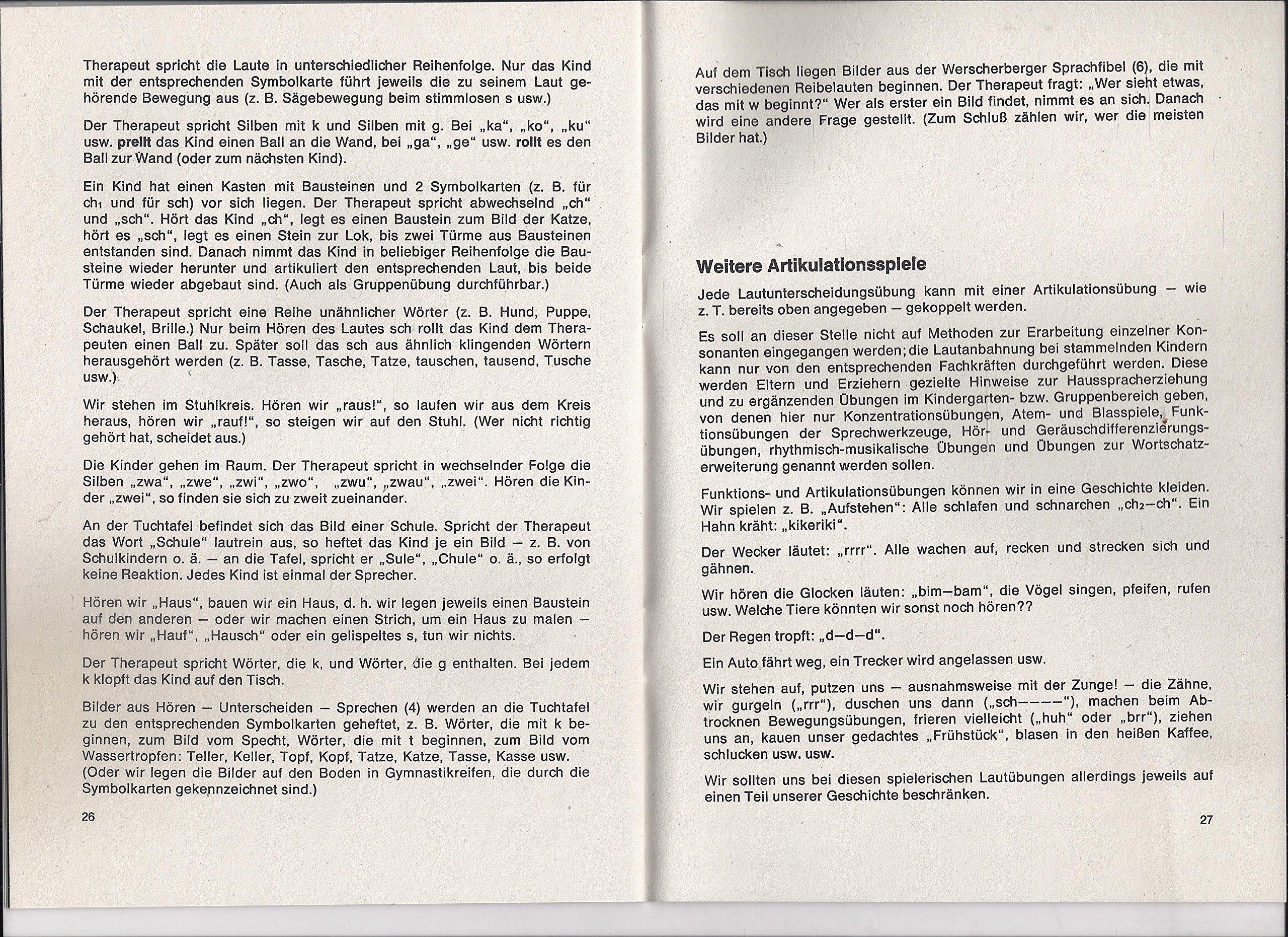Werscherberger Sprech Und Stimmspiele 73 Bildkarten Din A4 Und