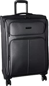 Samsonite Leverage LTE Softside Expandable Luggage with Spinner Wheels, Charcoal