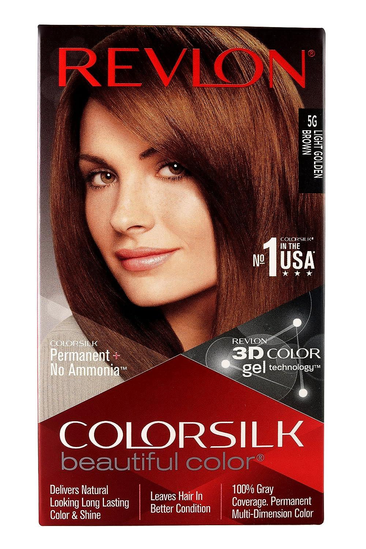 Buy Revlon Colorsilk Hair Color 200g Light Golden Brown 5g Online