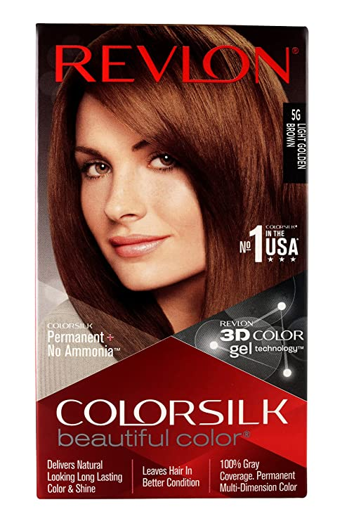 Buy Revlon Colorsilk Hair Color Light Golden Brown 5g 200g Online