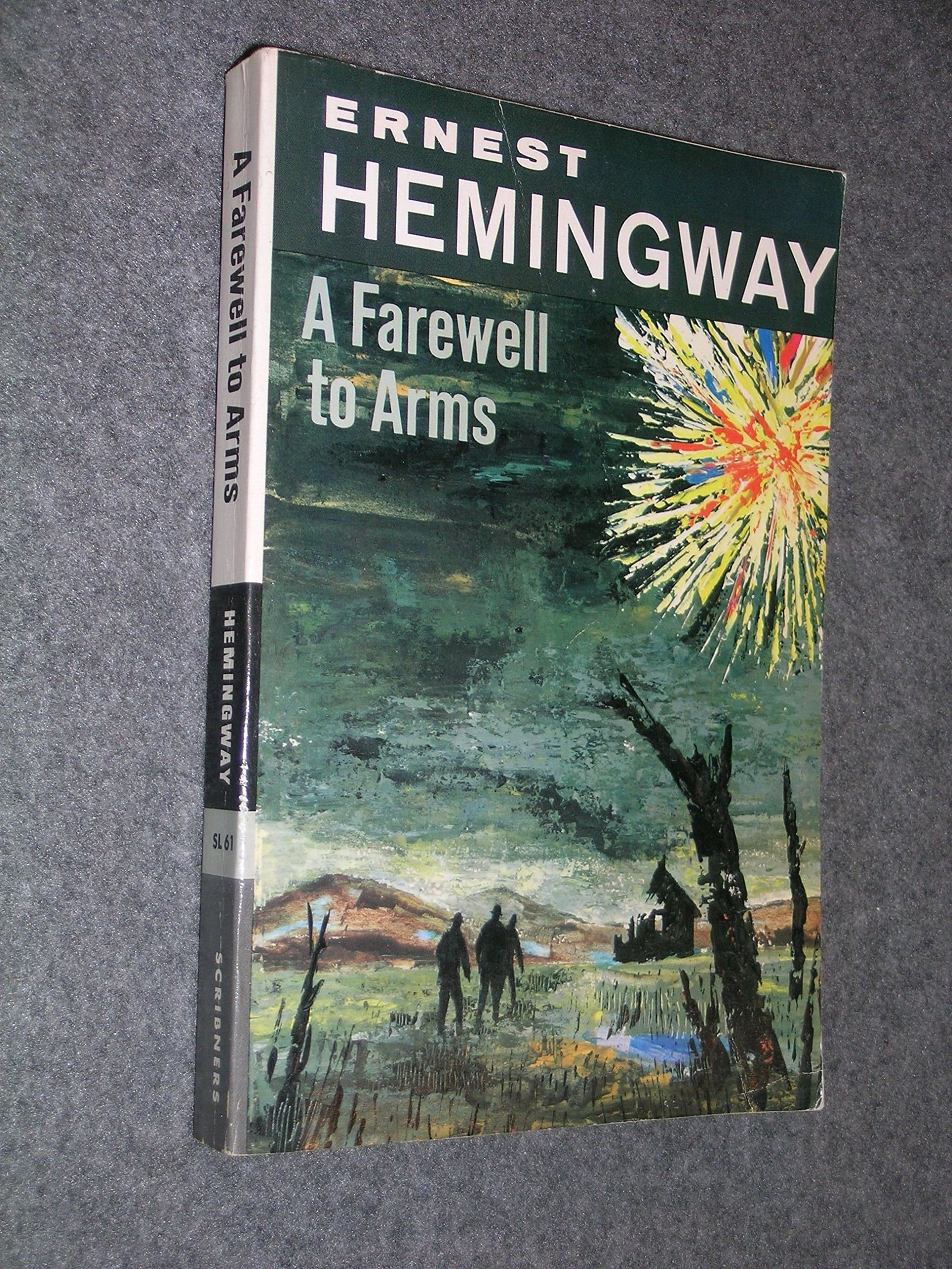 in his novel a farewell to arms ernest hemingway