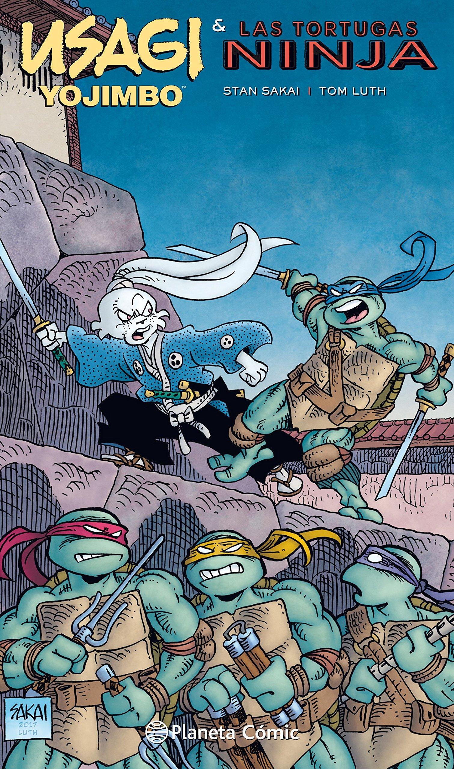 Usagi Yojimbo y las Tortugas Ninja: Stan Sakai ...