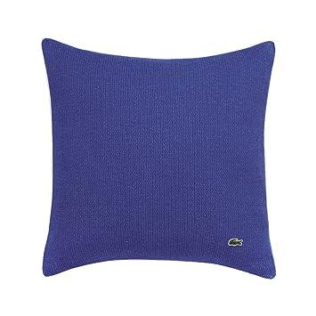 Amazon.com: Lacoste - Funda de almohada decorativa (piqué ...