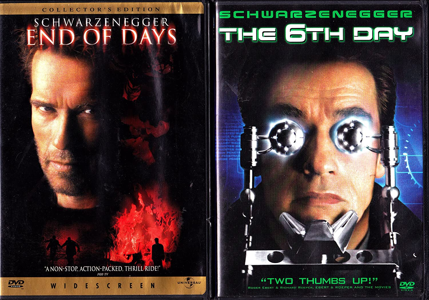 Amazon.com: End of Days/ The 6th Day 2 DVD Pack Arnold ...