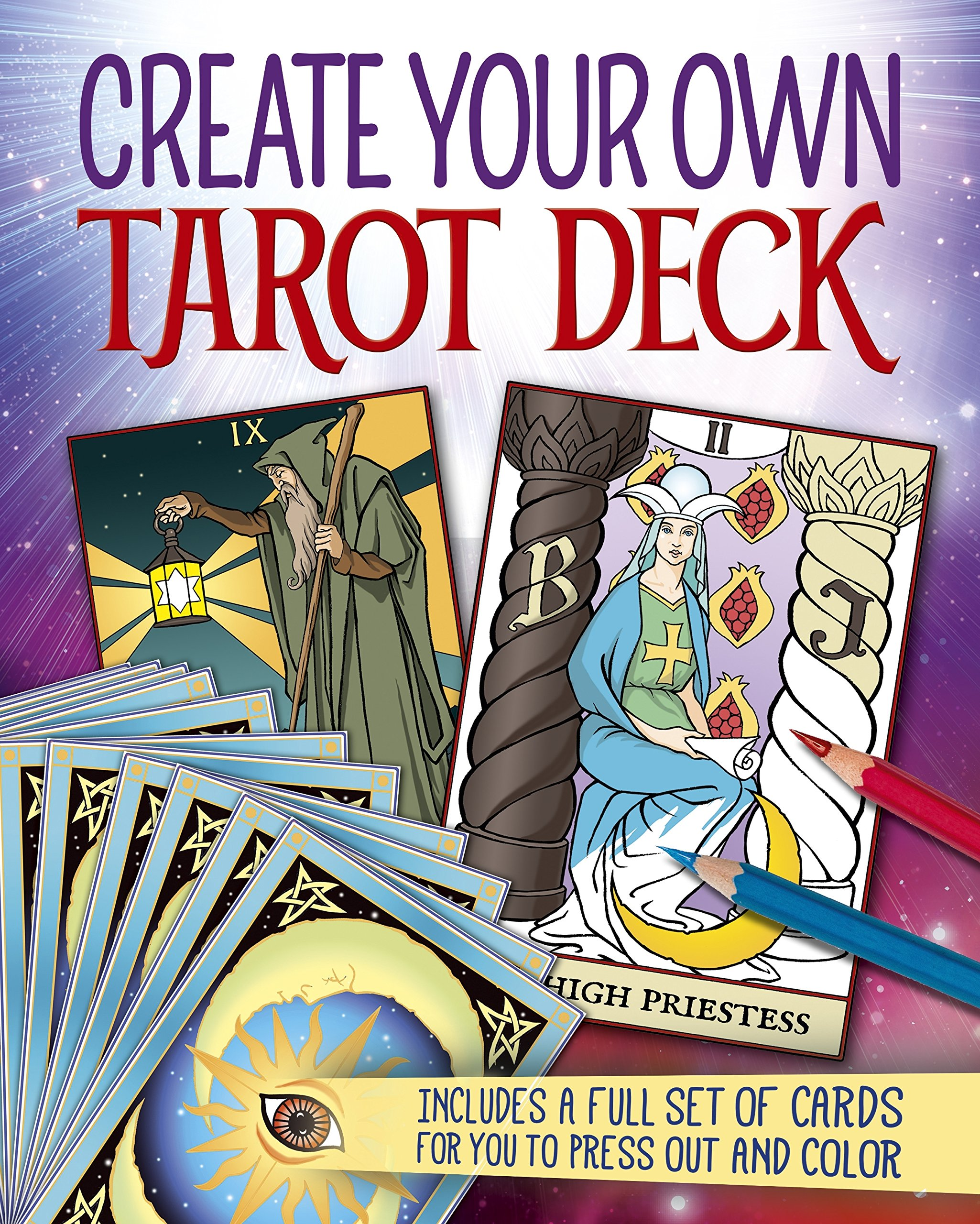 Create Your Own Tarot Deck: Includes a full set of cards for you ...