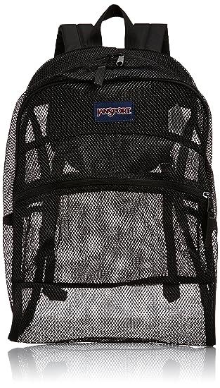 Amazon.com: Jansport Mesh Back Pack (Black): Clothing