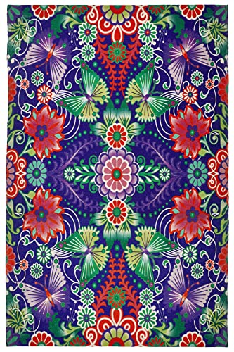 Feizy Rugs Catalina Estrada Lola Rug, 5 x 8 , Purple Multi