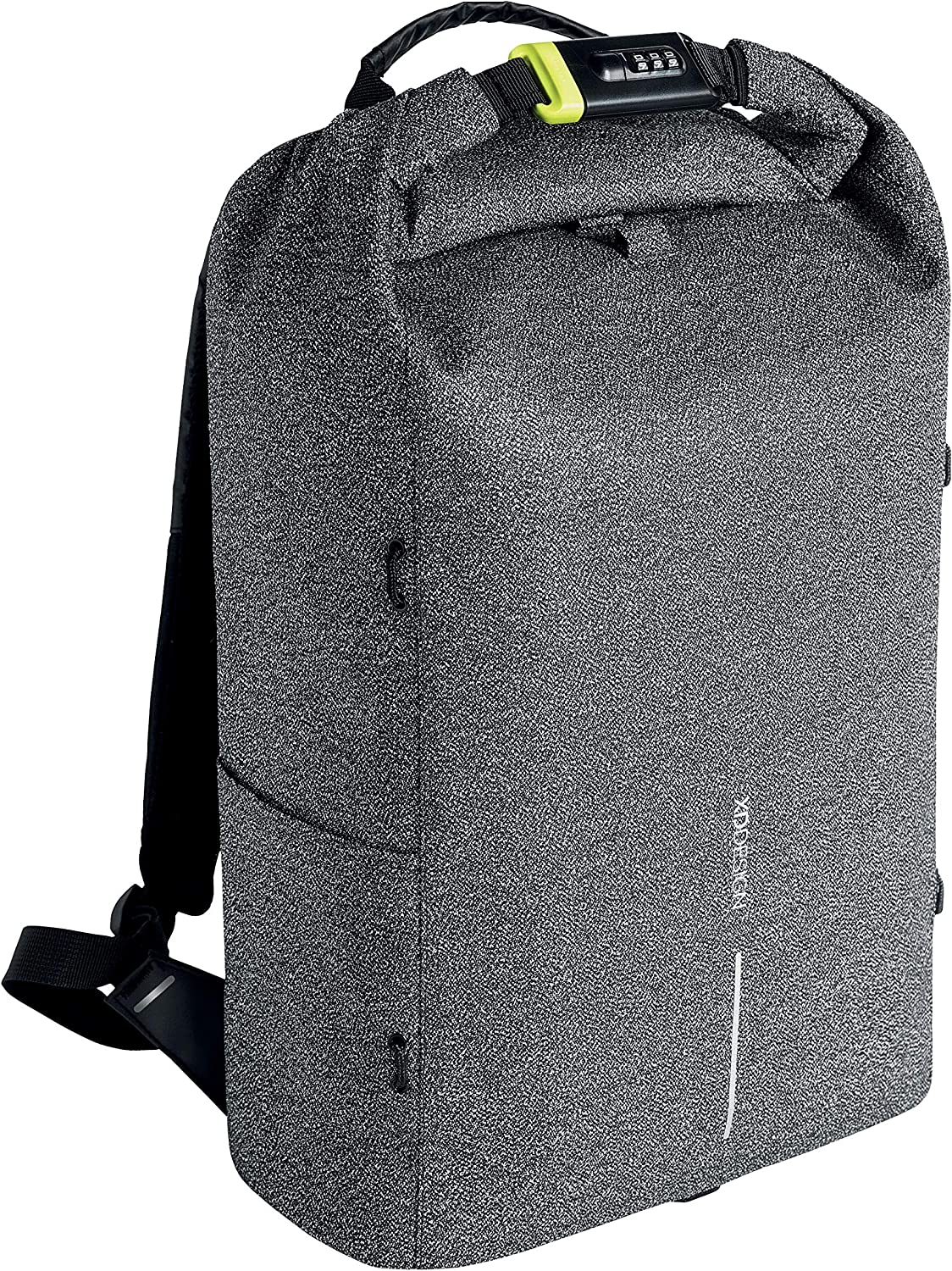 XD Design Urban Anti-Theft Laptop Backpack Cut Proof Grey (Unisex Travel Bag)