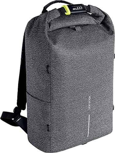 XD Design Urban Anti-Theft Laptop Backpack Cut Proof Grey Unisex Travel Bag
