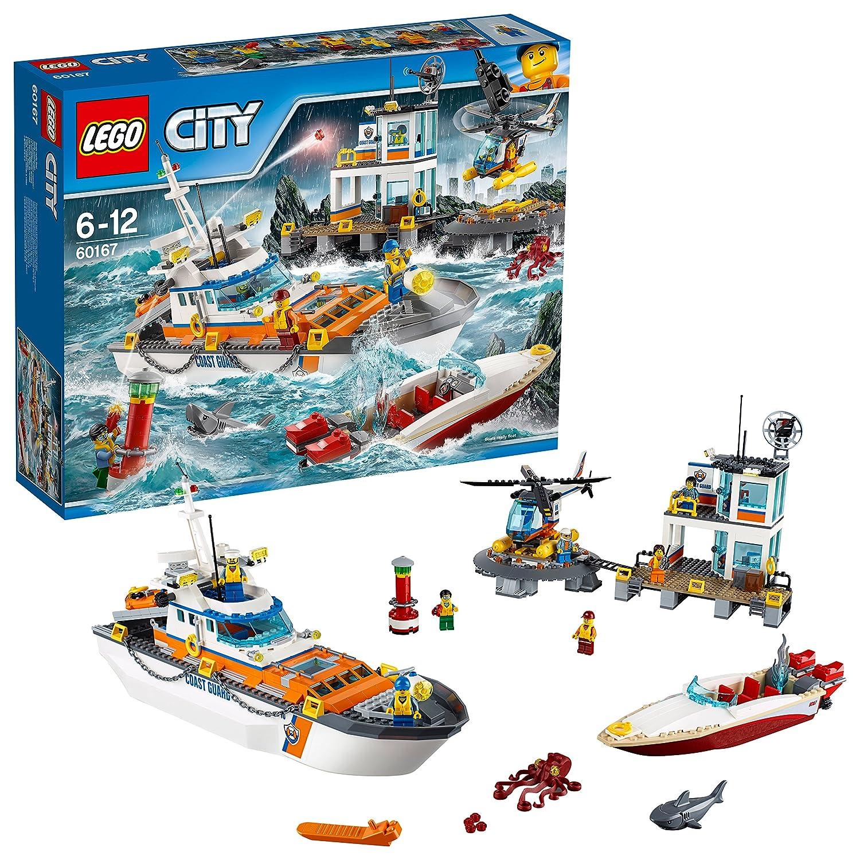 LEGO 60167 Coast Guard Head Quarters Construction Toy: Lego: Amazon.co.uk:  Toys & Games