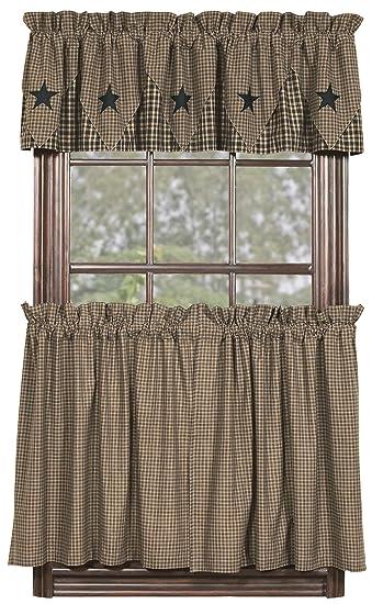 Curtains Ideas 36 inch tier curtains : Amazon.com: IHF Home Decor 36