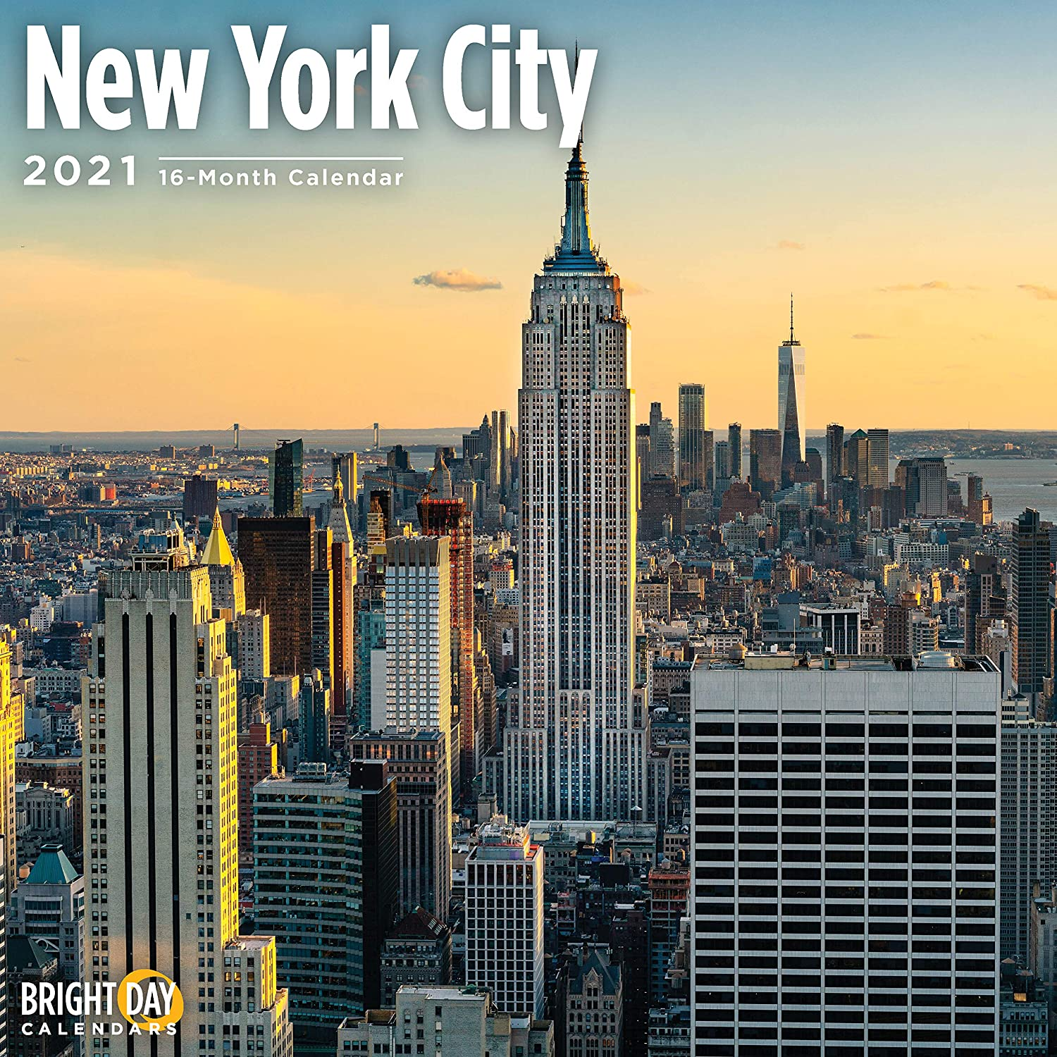 New York Calendar 2021 Amazon.: 2021 New York City Wall Calendar by Bright Day, 12 x