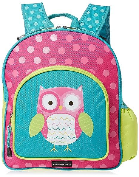 8c81ce2fcd Amazon.com  Crocodile Creek Girls Eco Owl School Backpack
