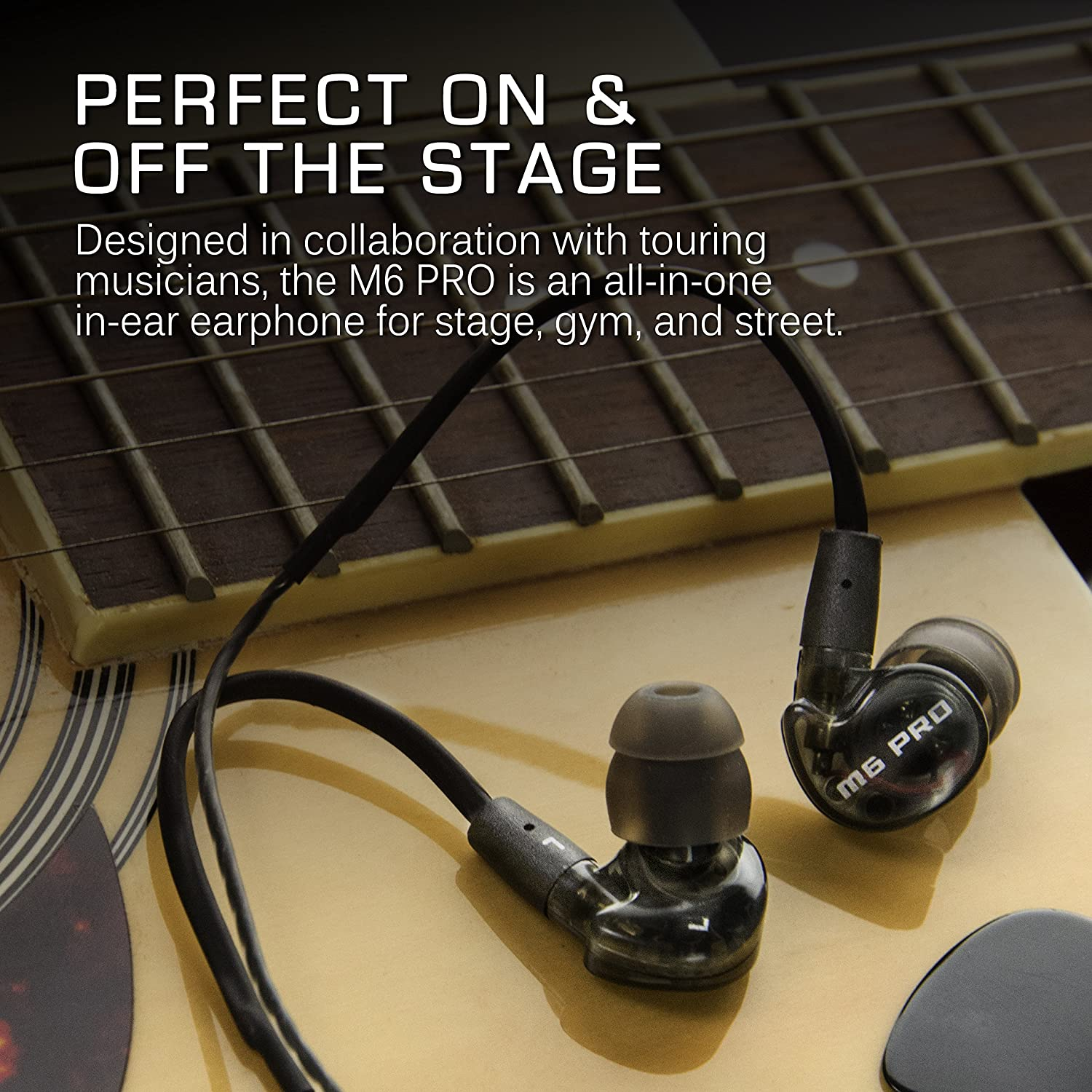 MEE audio M6 PRO Universal-Fit Noise-Isolating Musician's in-Ear Monitors