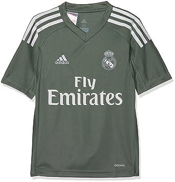 Adidas H Gk JSY Y Camiseta de equipación-Línea Real Madrid, Niños: Amazon.es: Deportes y aire libre