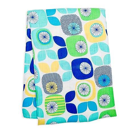 Lulujo Swaddle Manta para envolver bebé Gaze paños de bebé Toallitas toallitas con de Beaux Motifs