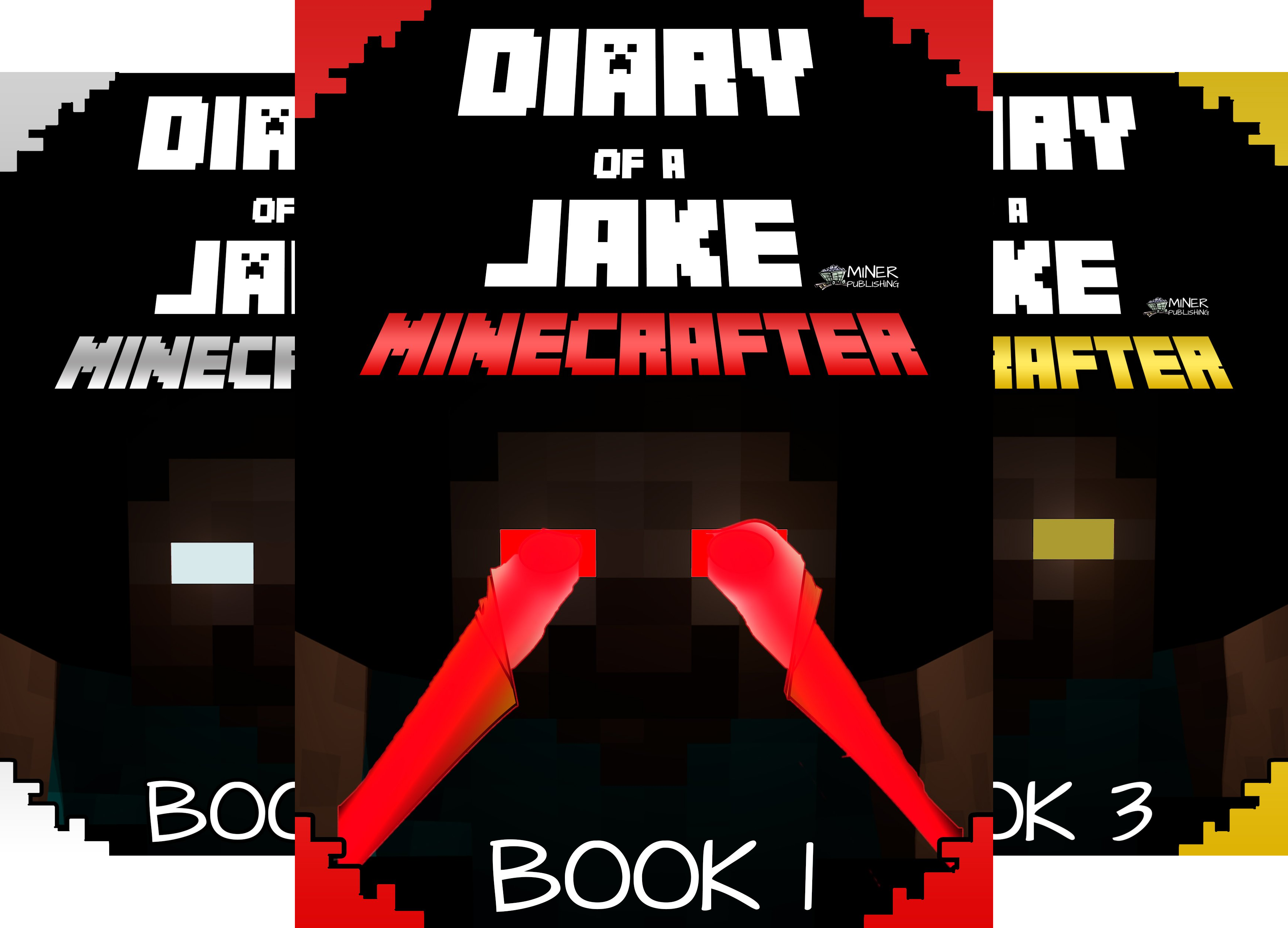 Gold KID Minecraft Series (4 Book Series)