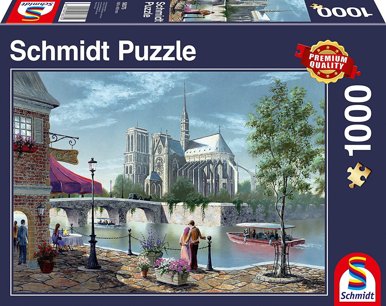 Clementoni 1000 Pi/èces 39458 High Quality Collection Puzzle- Venice Canal
