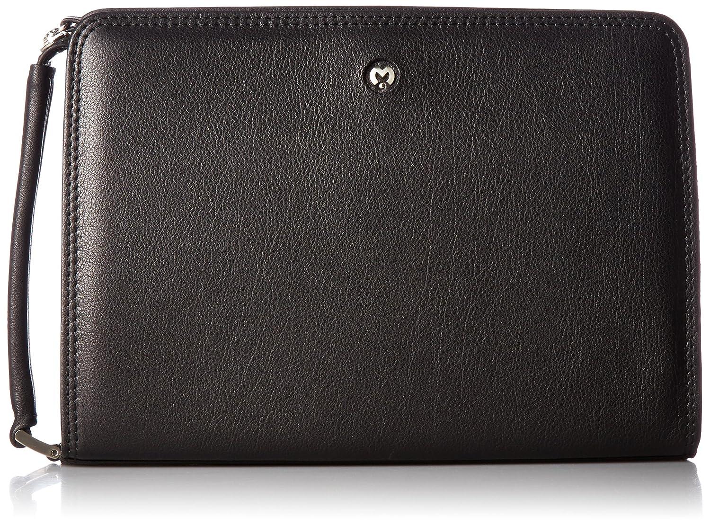 [ミラショーン] セカンドバッグ 25cm クレスタ 193221 B01MAWIIJ5ブラック