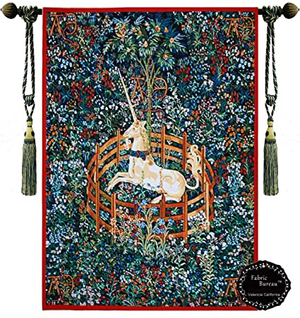 42fd5ddeb9 Decor Plus Unicorn in Captivity One of the Series of Seven Tapestries the  Hunt of the