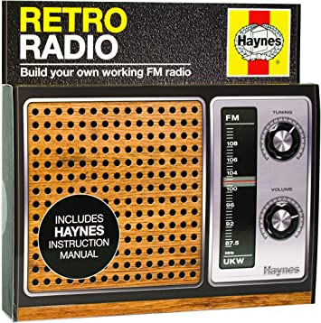 Haynes Retro Radio Kit Build Your Own Working